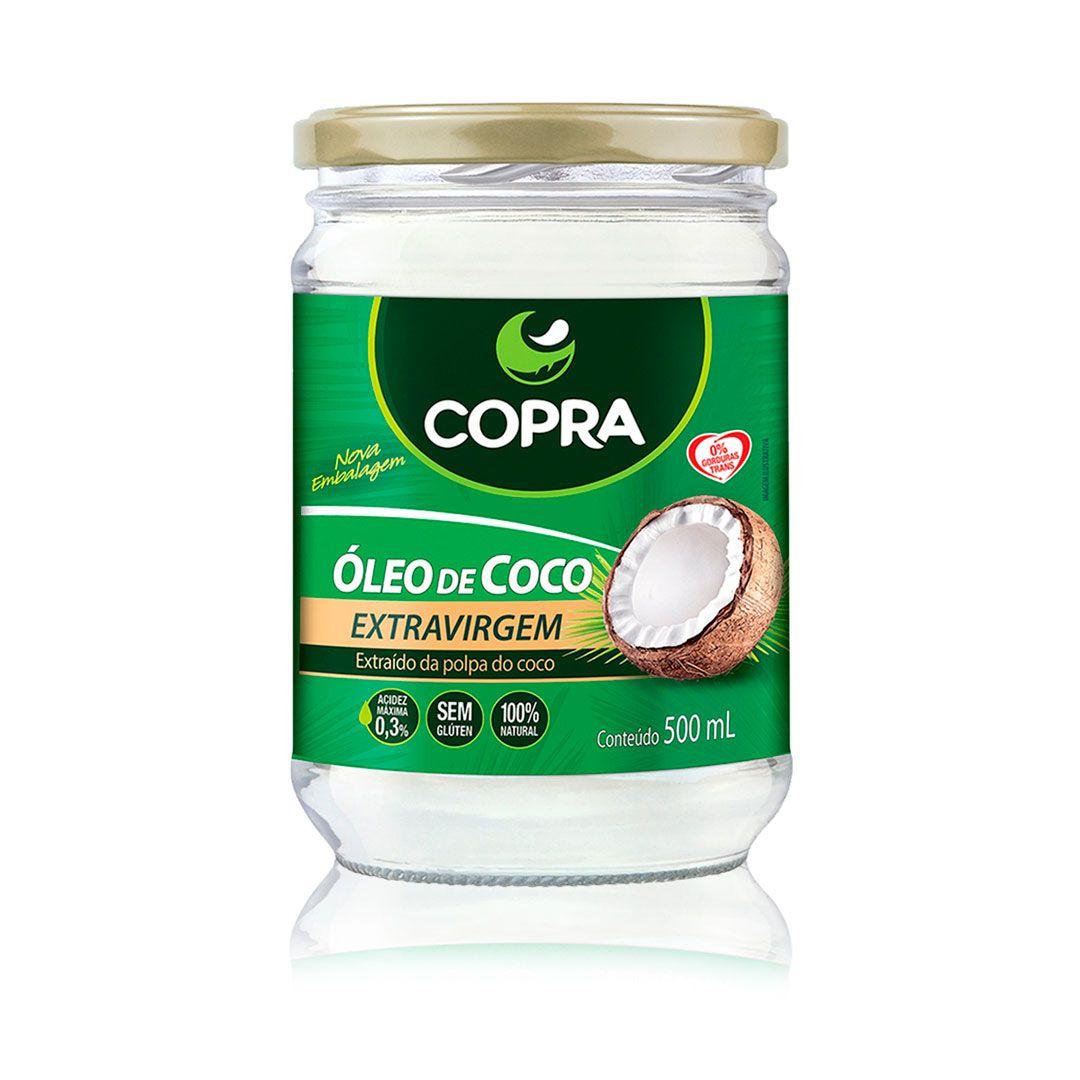 Óleo de coco Copra Extra virgem (TCM) 500ml