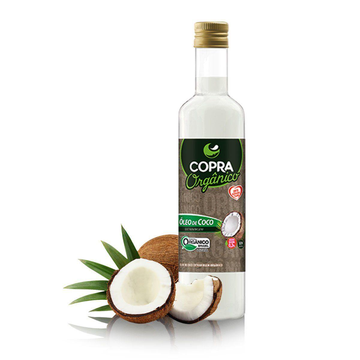 Óleo de Coco Extra Virgem Orgânico 250ml - Copra