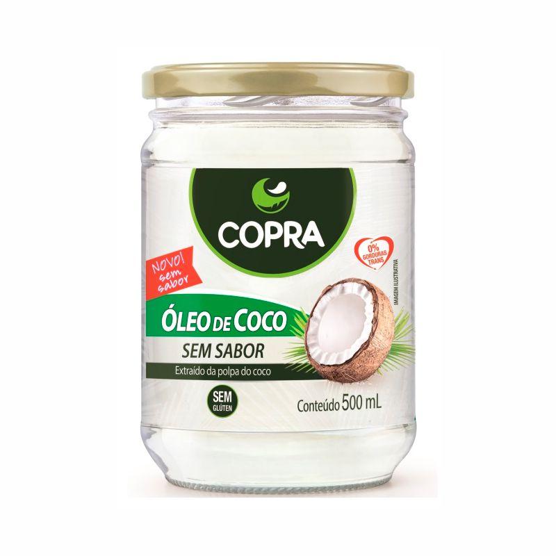 Óleo de Coco Sem Sabor 500ml - Copra