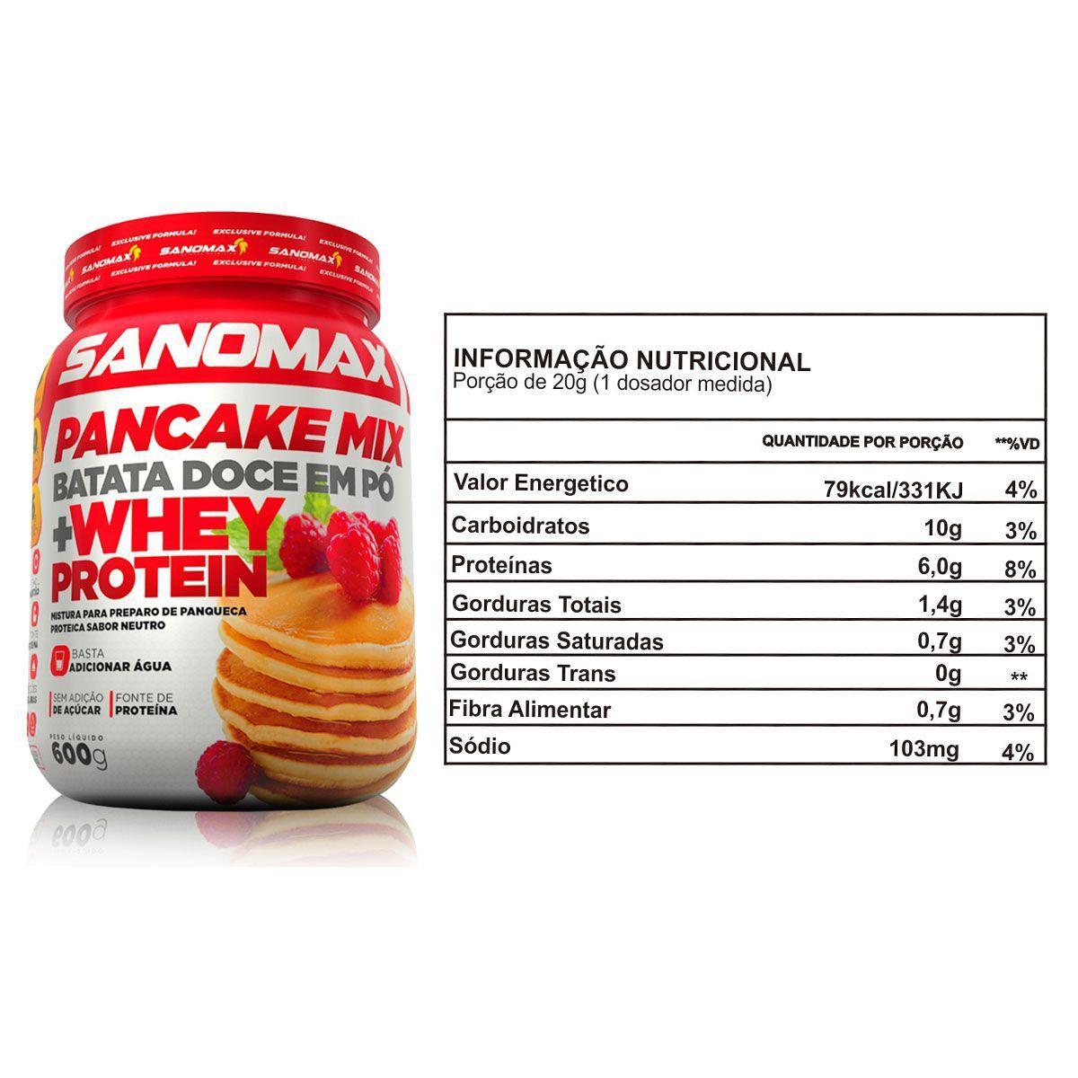 Pancake Mix 600g - Sanomax