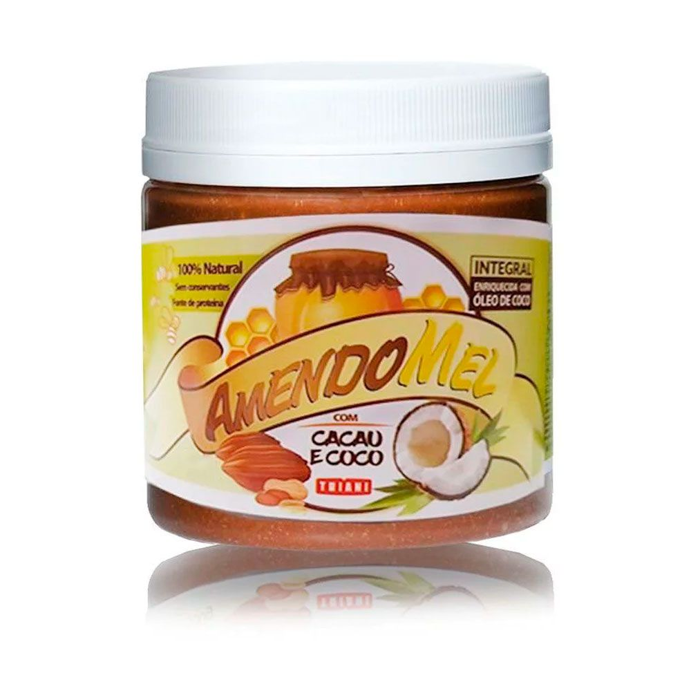 Pasta Amendomel Cacau com Coco 500g Thiani Alimentos