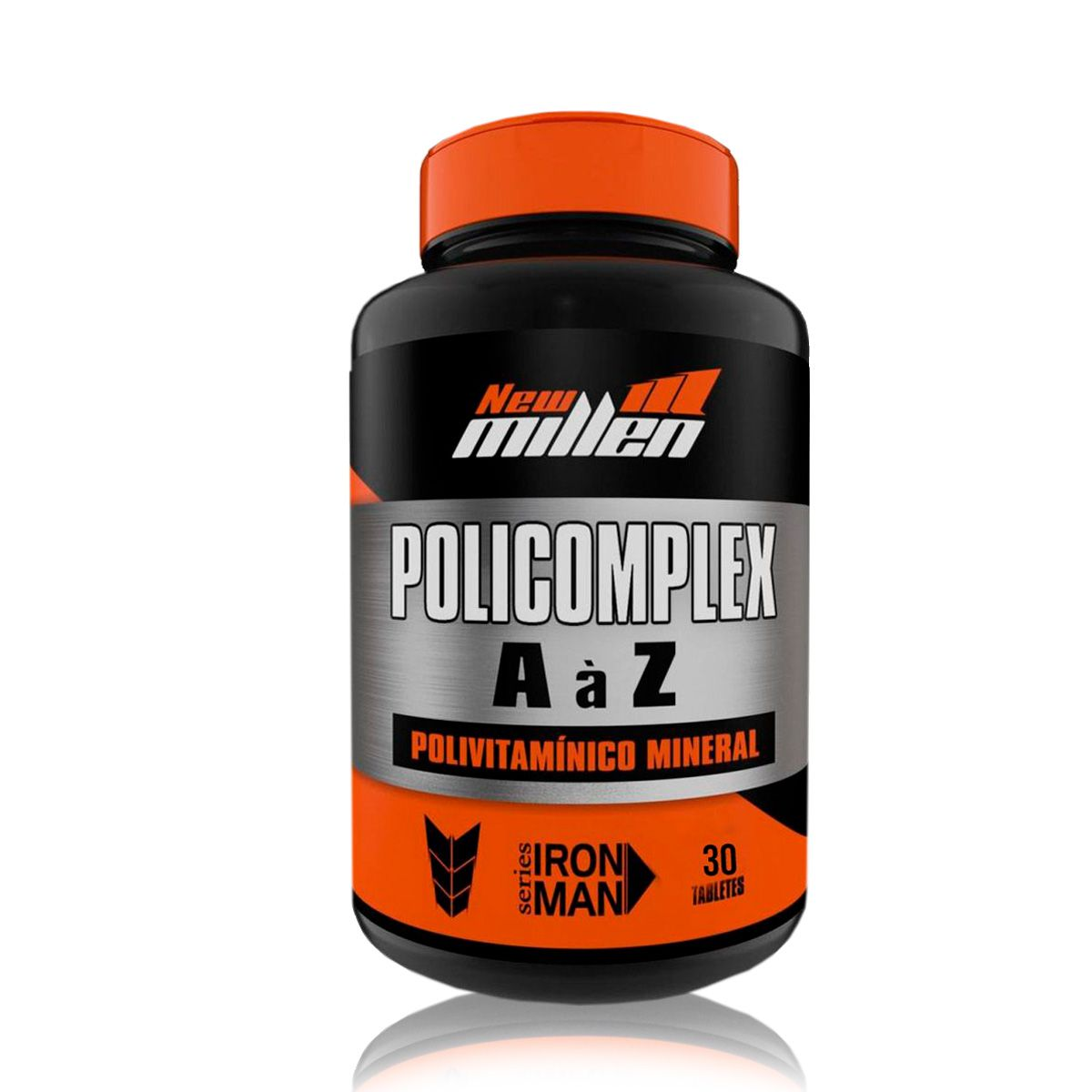 Policomplex Polivitaminico 30 Tabletes - New Millen