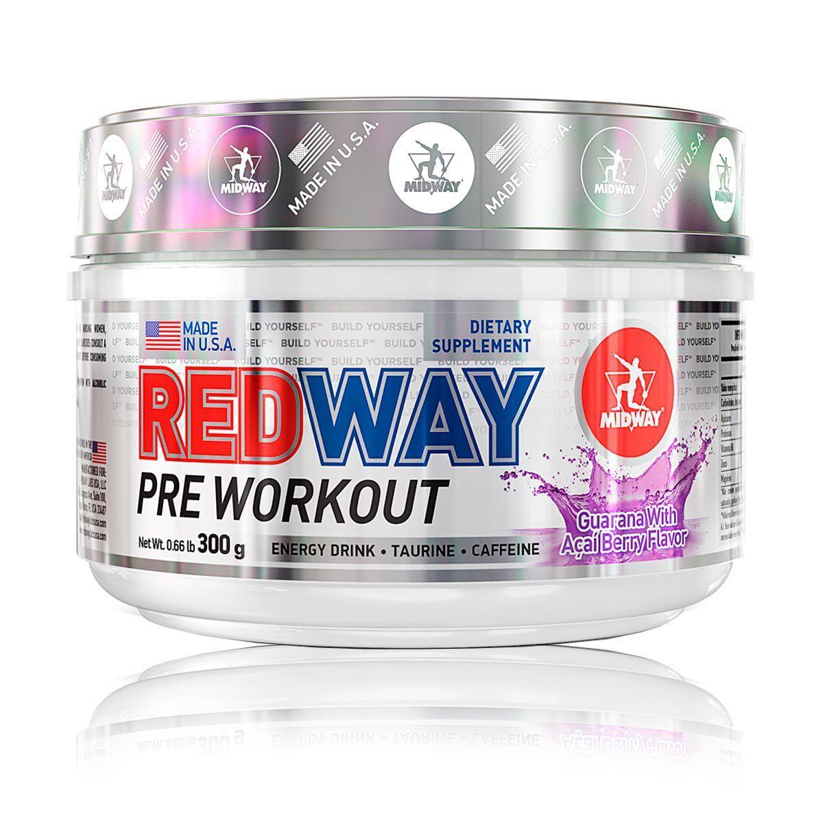 Redway 300g Pre Treino - Midway