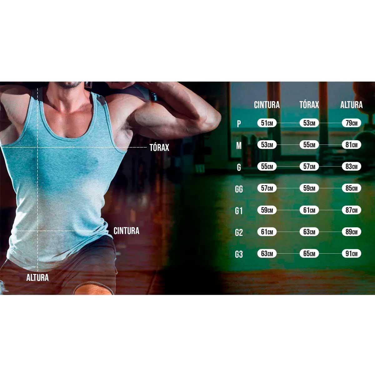 Regata Cavada Fitness Cinza Chumbo - SEV7N Clothing Muscles