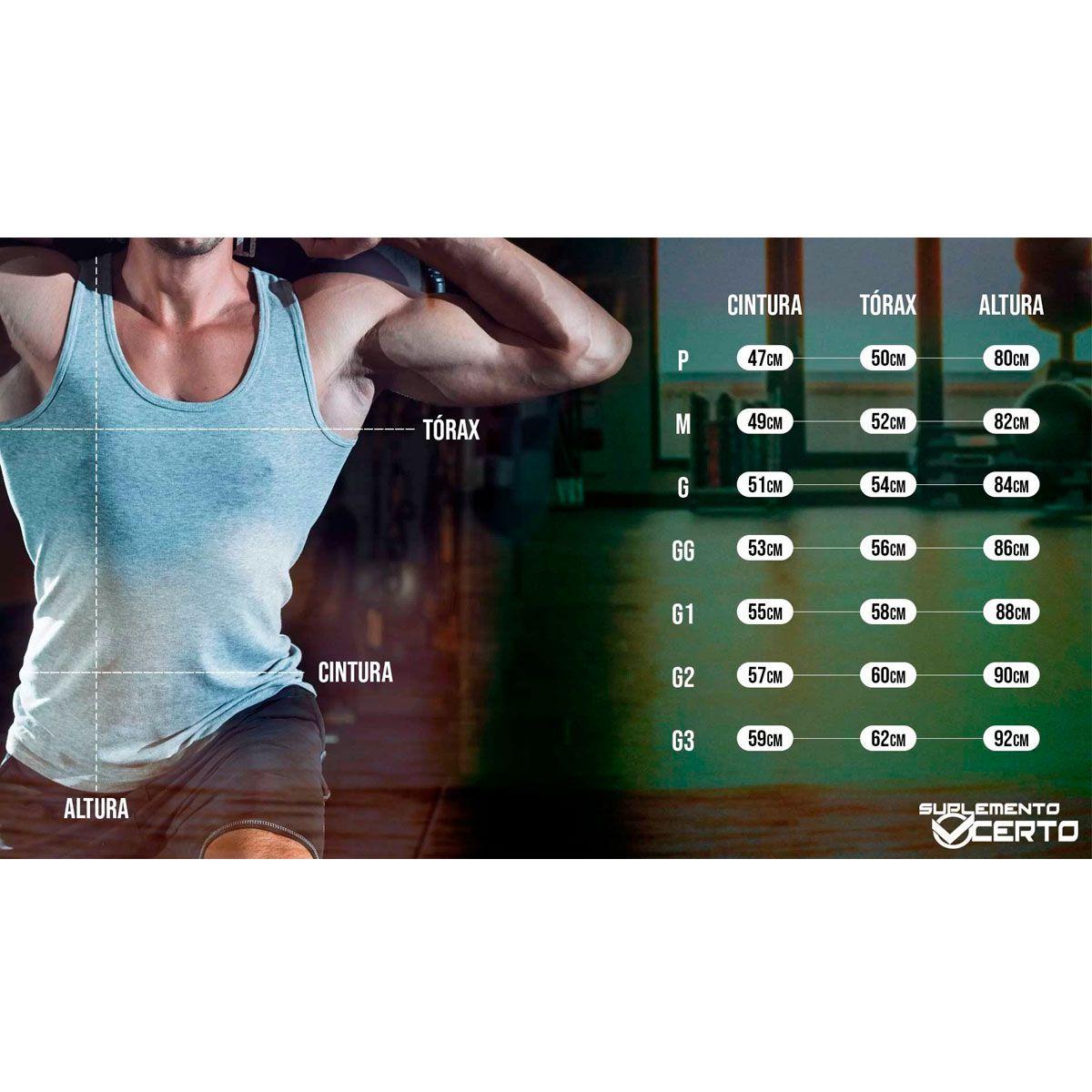 Regata Masculina Esportiva Chumbo Mescla - SEV7N Clothing Muscles
