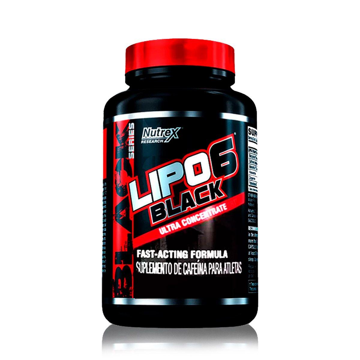 Lipo 6 Black 60 Capsulas - Nutrex