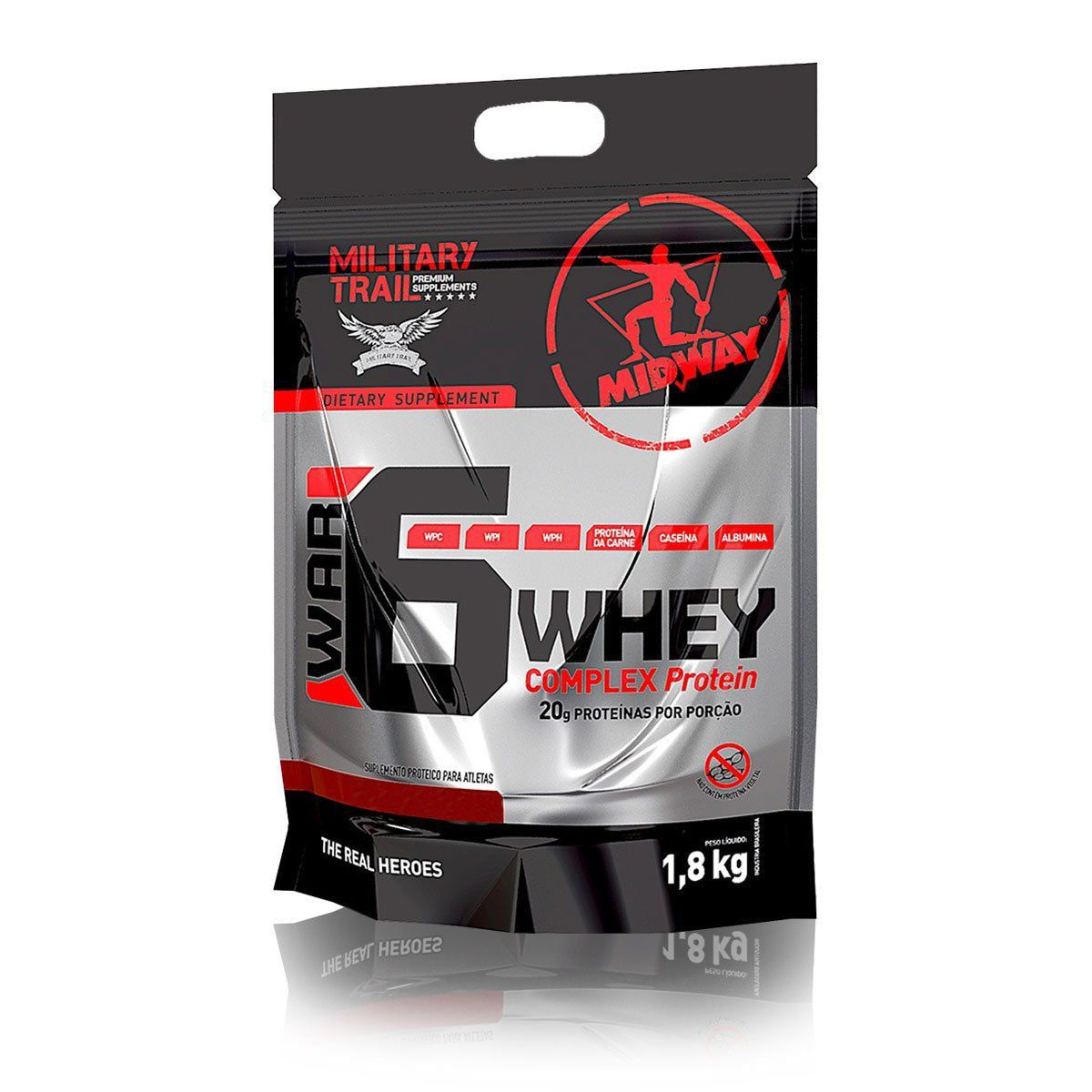 War 6 Whey Protein Complex 1,8 kg - Midway Labs