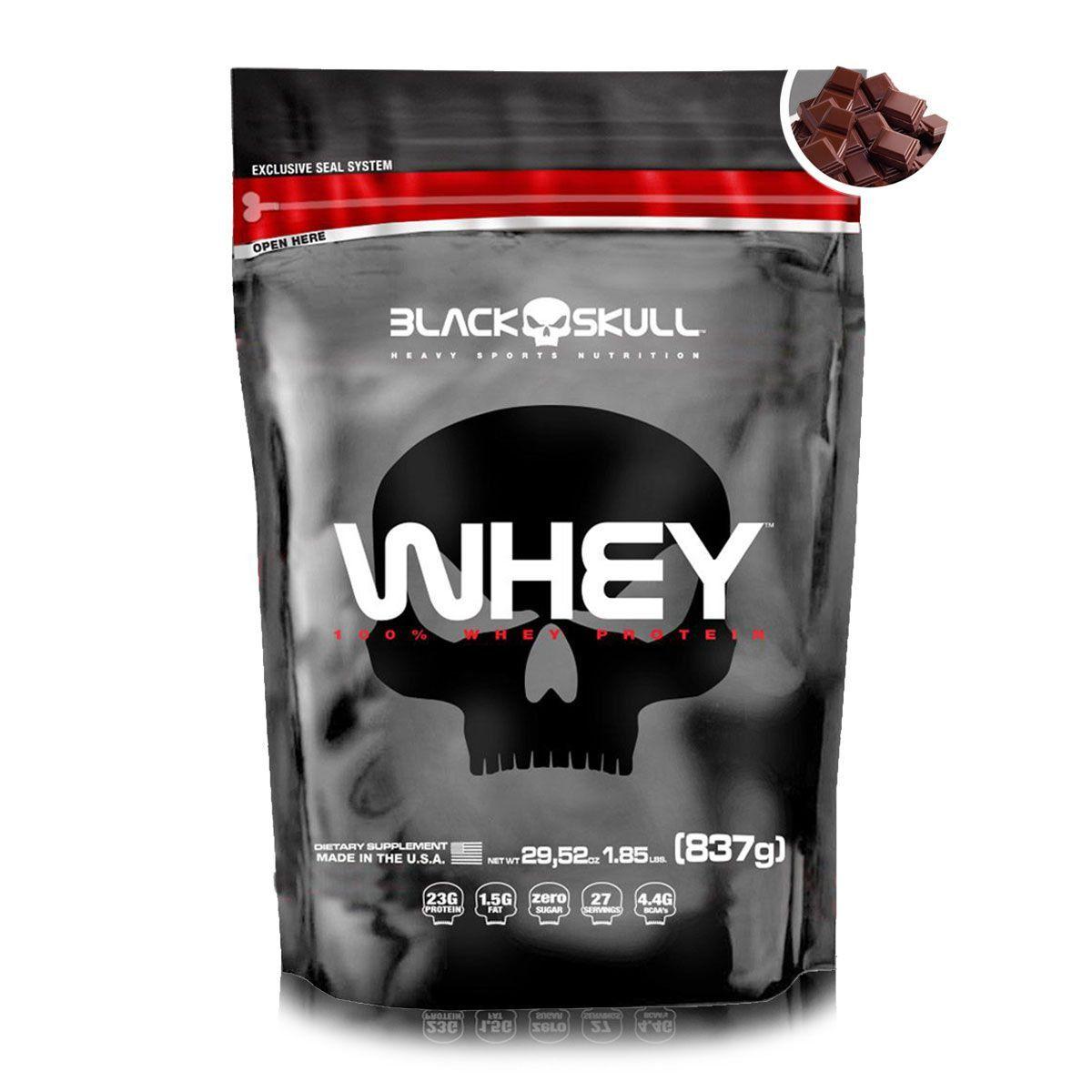 Whey Protein 100% 837g - Black Skull