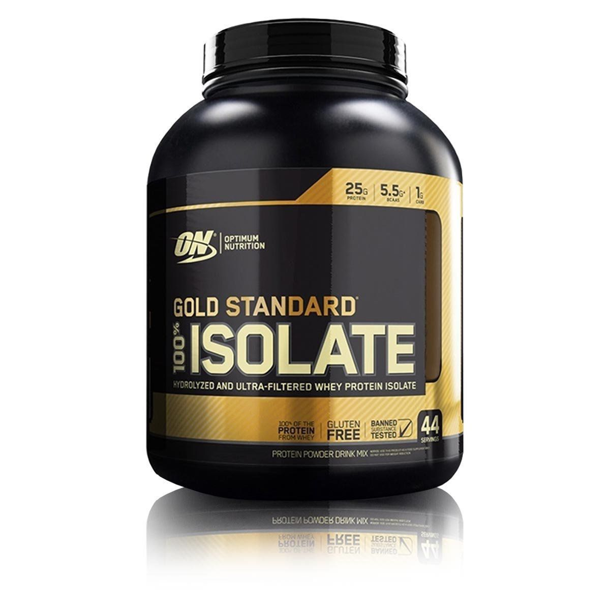 Whey 100% Isolate Gold Standard 3lbs - Optimum Nutrition LANÇAMENTO