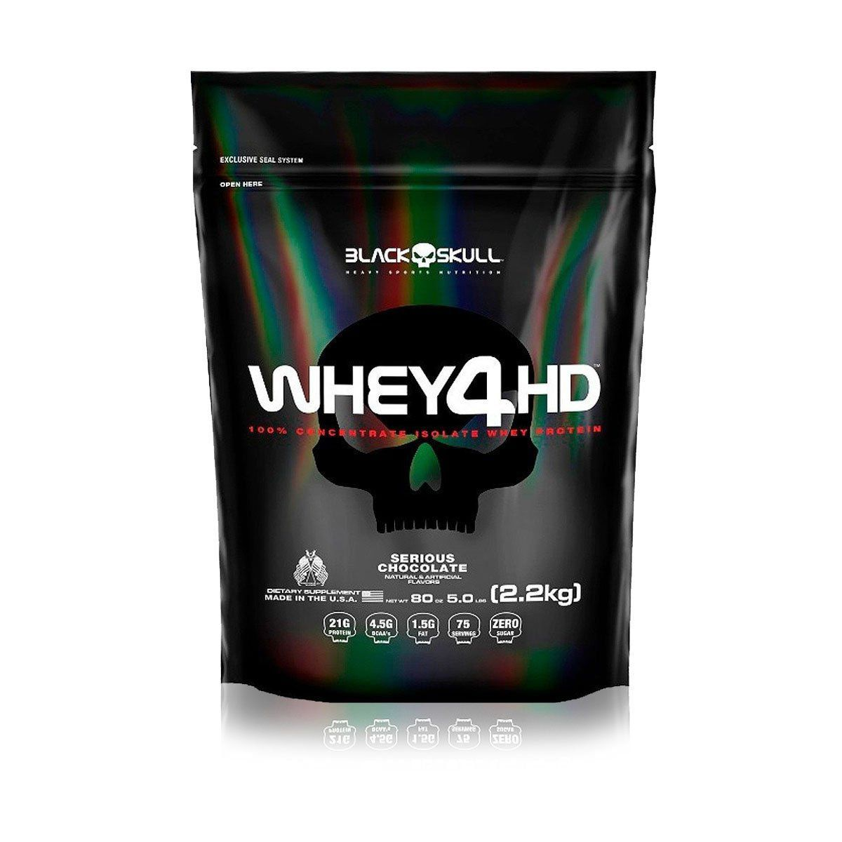 Whey 4HD Refil 2,2Kg - Black Skull