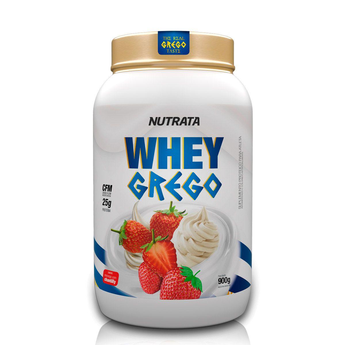 Whey Grego 900g - Nutrata
