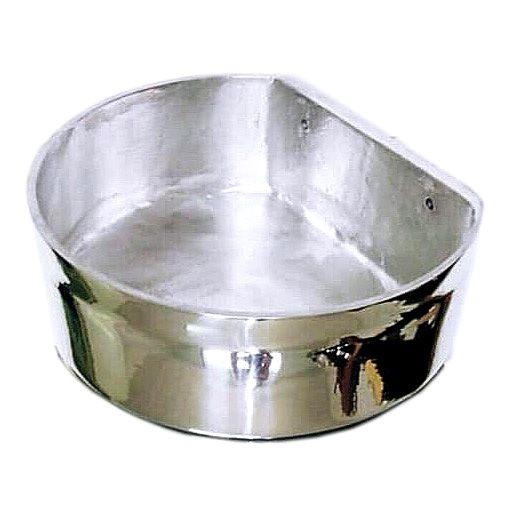 Comedouro Raso para Equinos de Alumínio 5 Litros