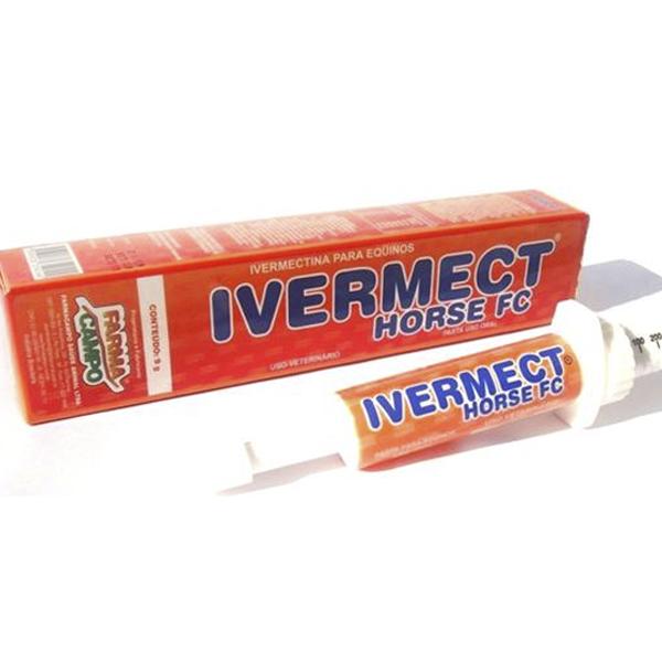 Farma Campo - Ivermect Horse FC à base de Ivermectina a 1,56% - 9g - Pasta uso oral