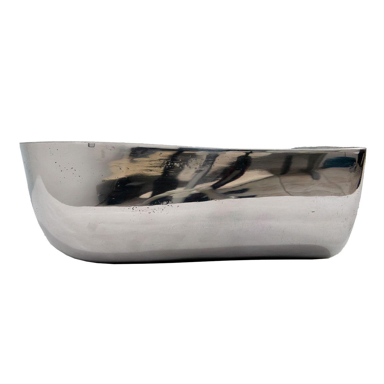 Saleiro oval em alumínio 2.5 litros