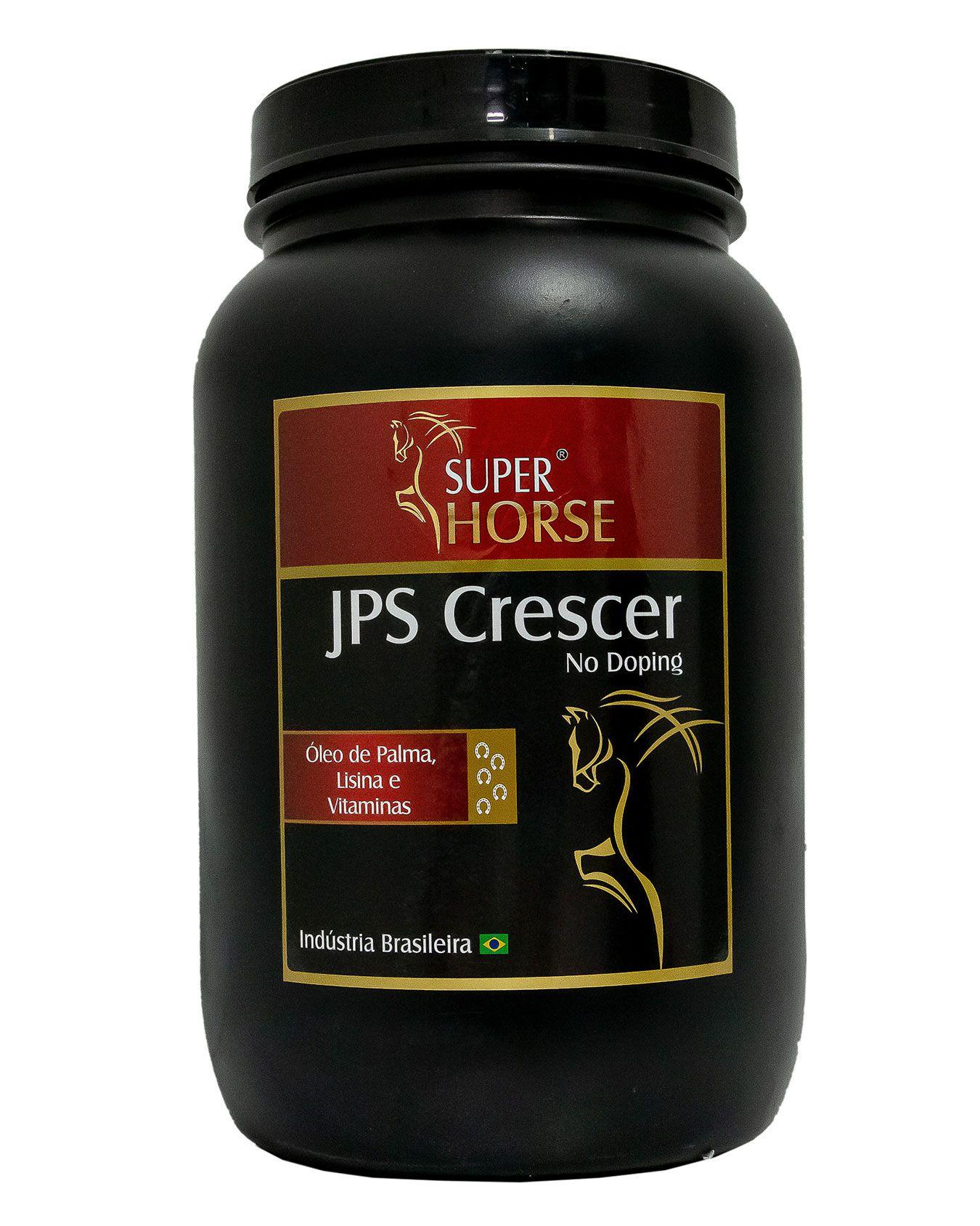 Super Horse JPS Crescer - 3 Kg - Rendimento 120 dias de uso.