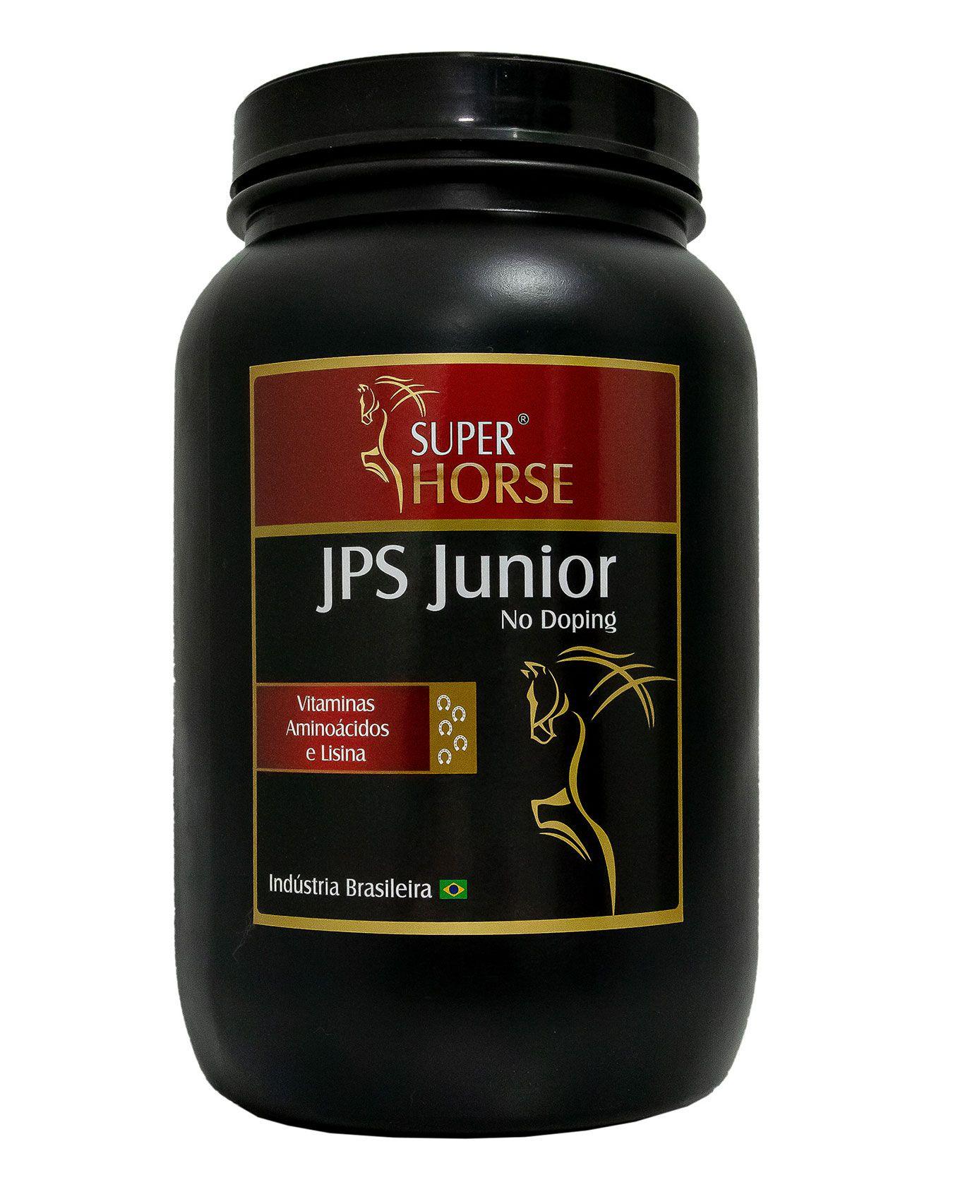 Super Horse JPS Junior, 1 kg rende em até 40 dias.