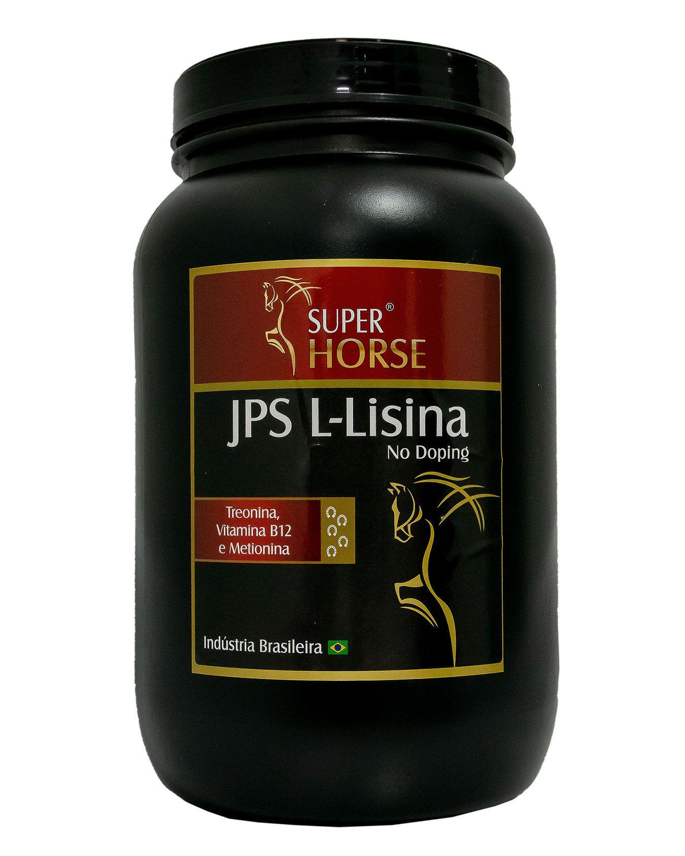 Super Horse JPS Lisina, 3 kg rende em até 120 dias.