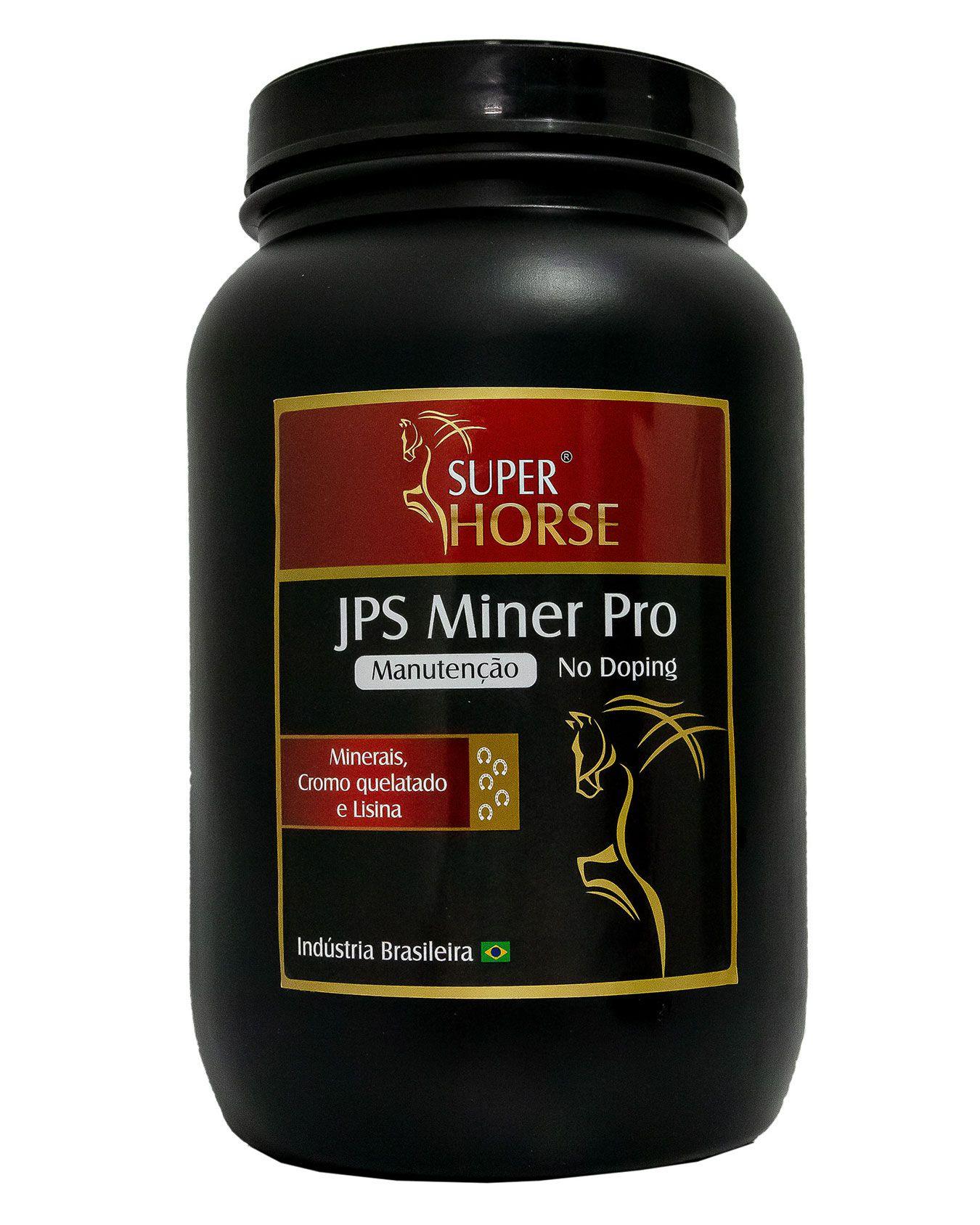 Super Horse JPS Miner Pro, 3 kg rende em até 120 dias.