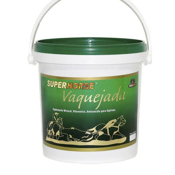Super Horse Vaquejada 2,5 Kg - Rendimento 100 dias de uso.