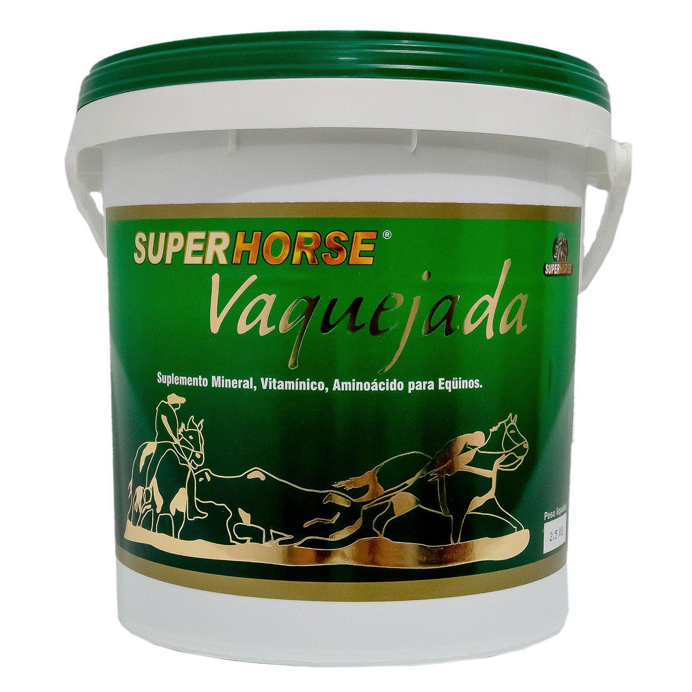 Super Horse Vaquejada, 5 kg rende em até 200 dias.