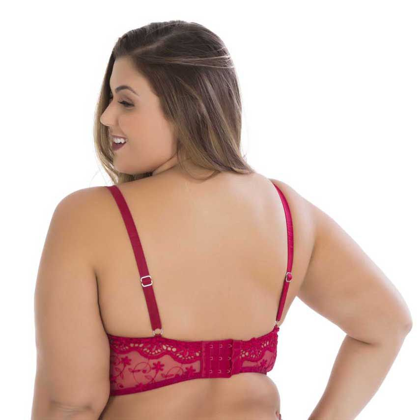 Cropped bordado plus size 0780