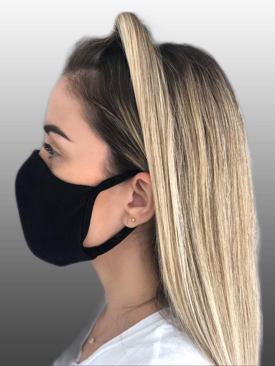 Máscara 100% Algodão Reutilizável Kit c/ 10 unidades