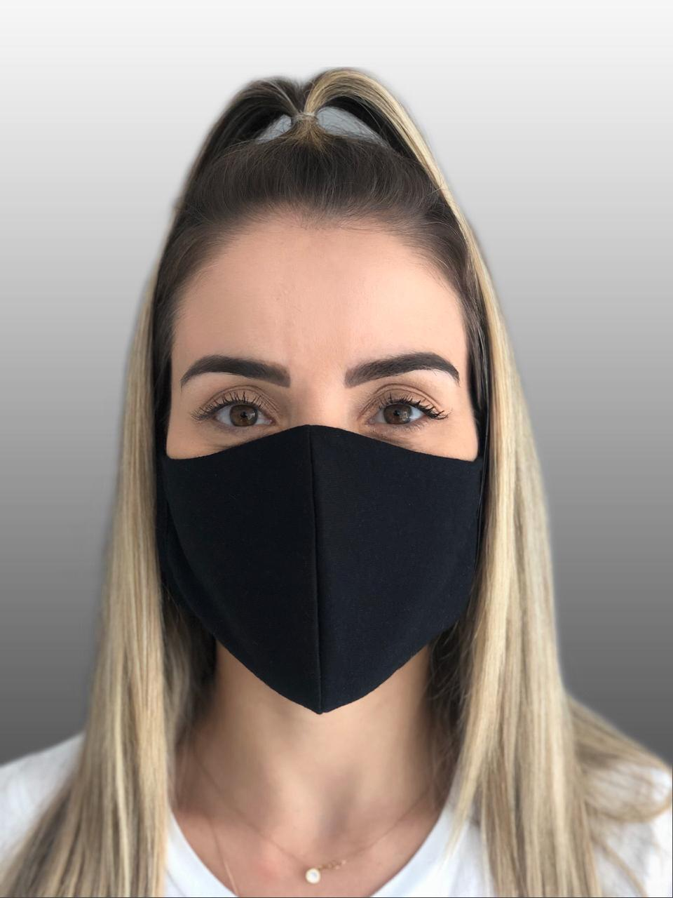 Máscara 100% Algodão Reutilizável UNIDADE