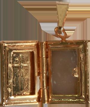 Agnus Dei - Folheado a ouro