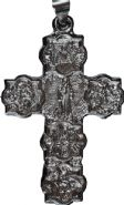 Cruz de São Bento Prateada