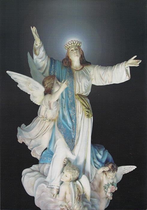 Estampa de Nossa Senhora da Assunção - Grande