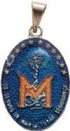 Medalha Missionária Colorida