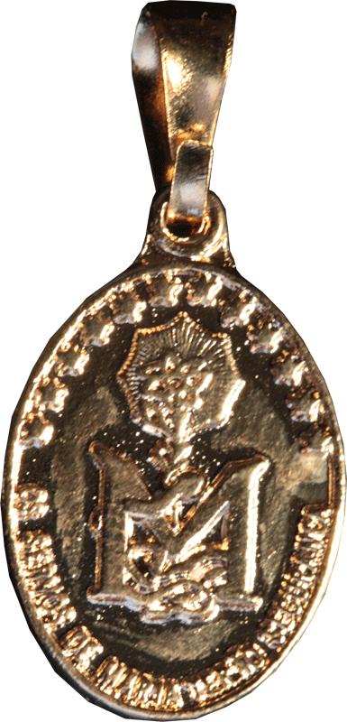 Medalha Missionária Dourada Pequena