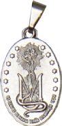 Medalha Missionária Prateada Pequena