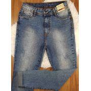 Calça Jeans Estonada Escura