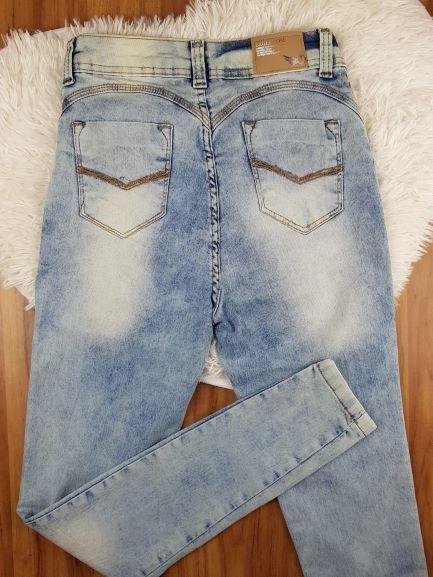 Calça Jeans Skinny Estonada