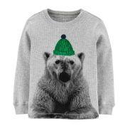 Camiseta carter's urso