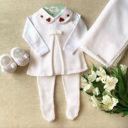 Saída Maternidade  Lia ( Branca)