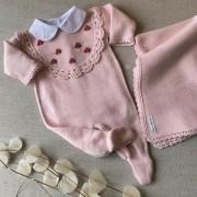Saída Maternidade  lila
