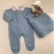 Saída Maternidade Lucas azul