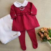 Saída Maternidade  Luz Pink
