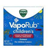 Vick VaporRub Children ( crianças maiores que 2 anos)