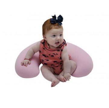 Almofada de amamentação _ Cinza  baby pil