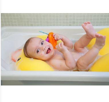 dbbce5cbd Almofada de Banho Patinho Joy _ Baby Pil - Armazem Baby