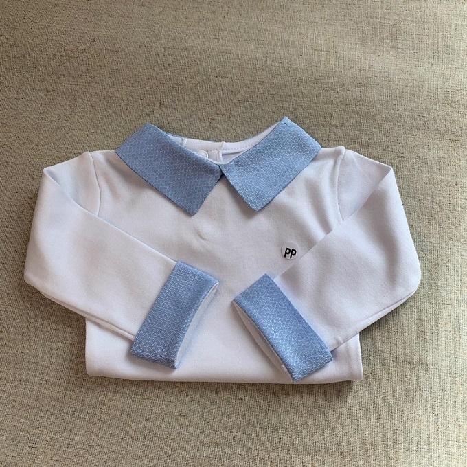 Body golinha e punhos camisa
