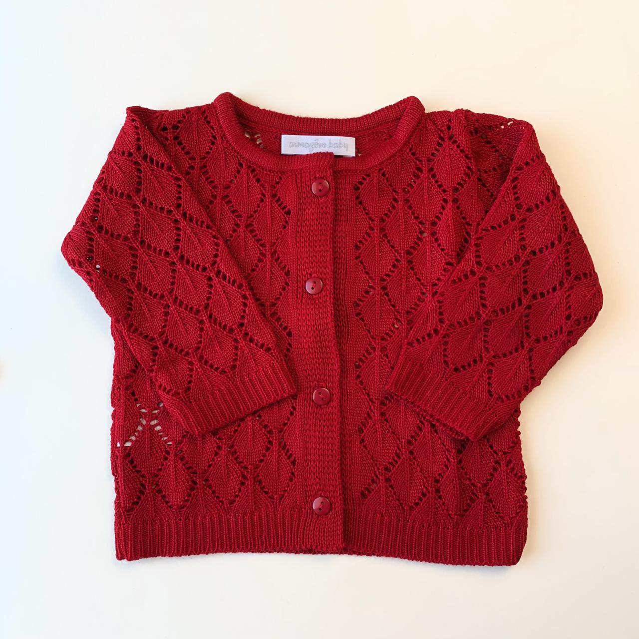 Casaquinho em tricot