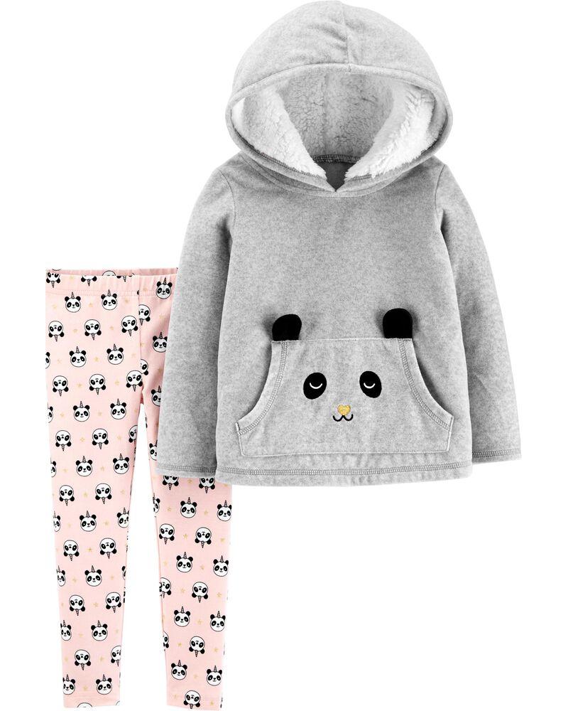 Conjunto  Inverno panda Carter's