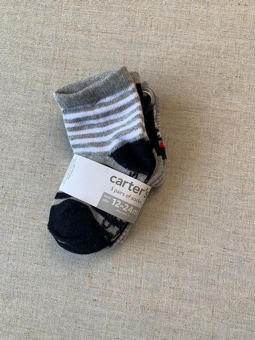 Kit de meias Carter's