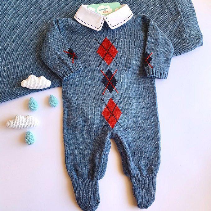 Saída Maternidade Gabriel Azul Tirreno