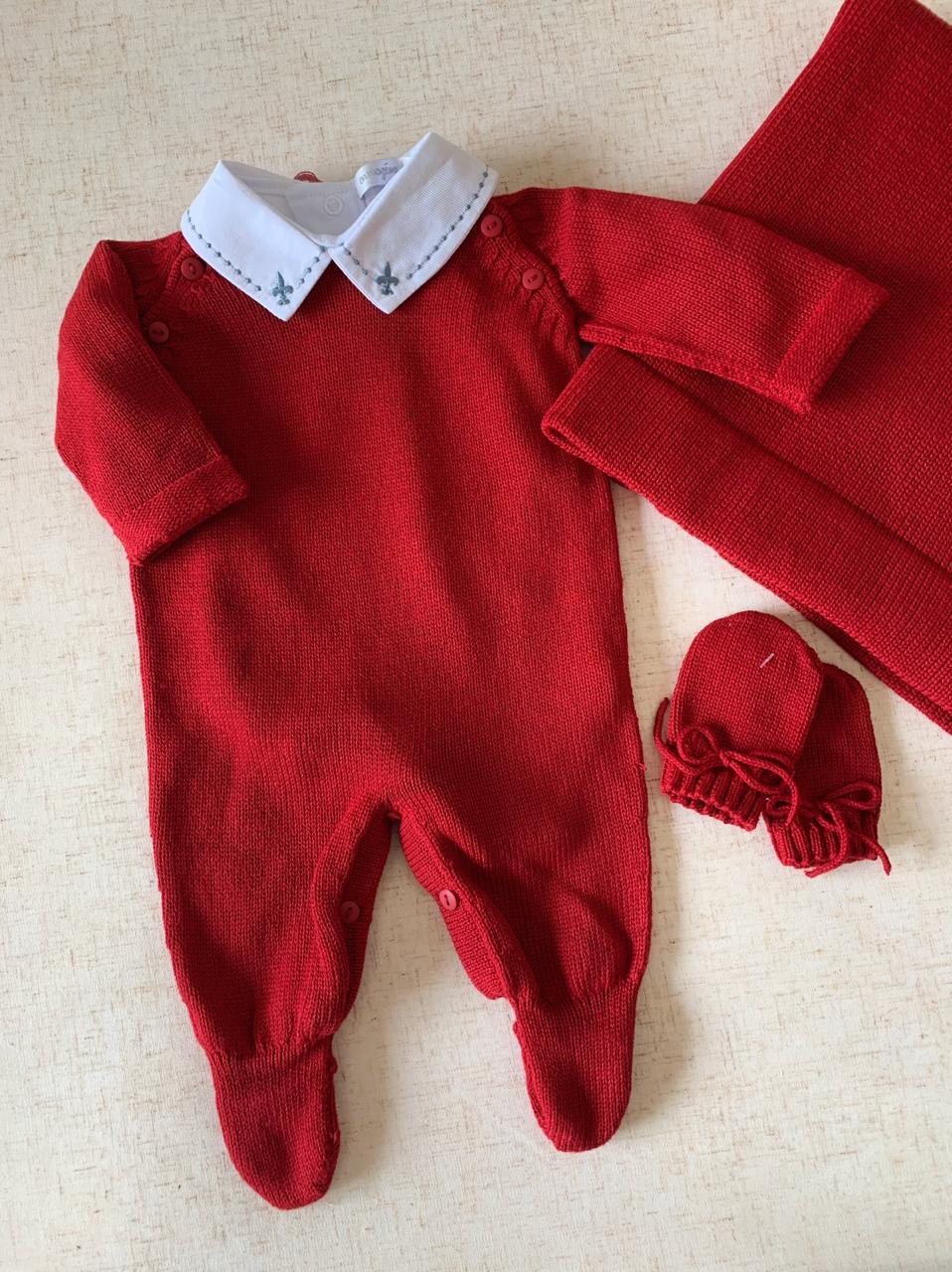 Saída Maternidade  João Victor vermelha