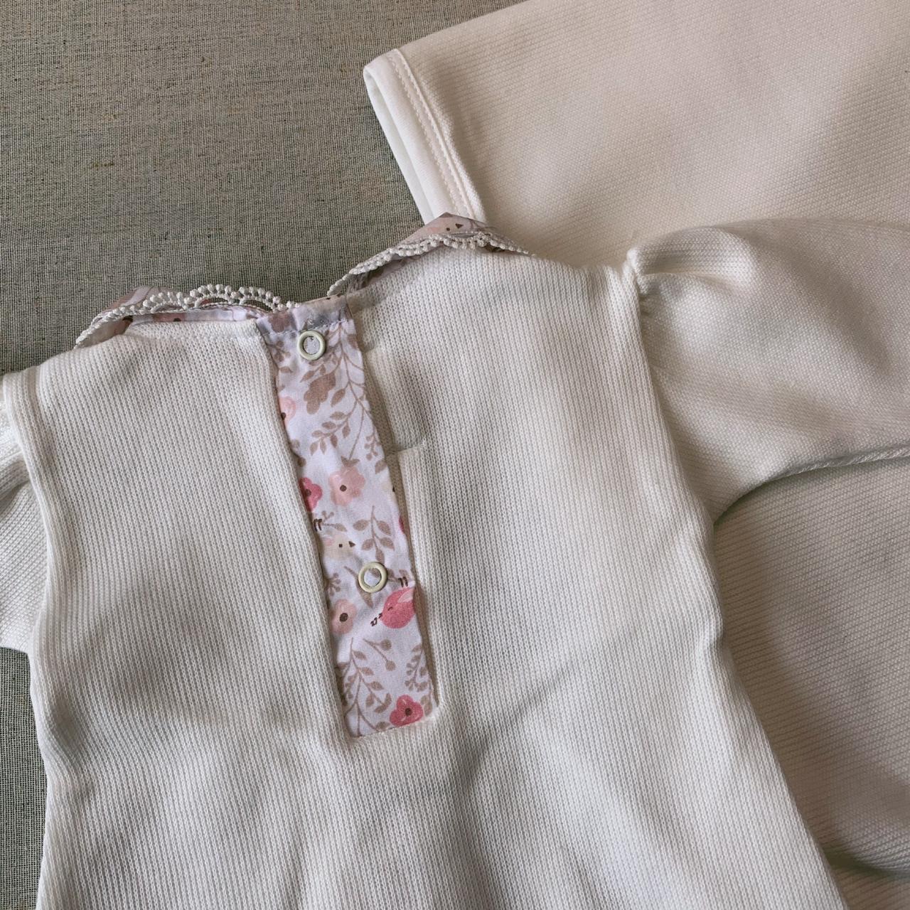 Saída Maternidade Larissa ( manta lisa)